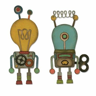 Sizzix Thinlits Stanzer Set 14tlg. - Roboter by Tim Holtz