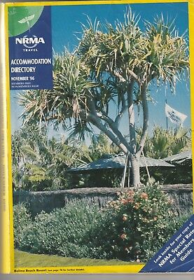 Nrma 1996 Retro Accommodation Guide 556 Pages