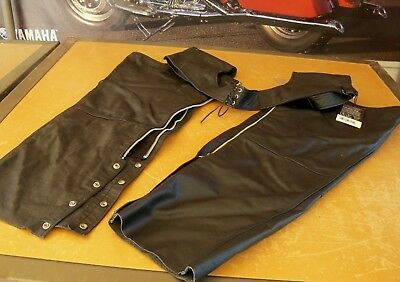 Nos First Manufacturing Co. Nero Chaps 5x Fmm-830-bm-5x