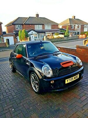 Bmw Mini Cooper S Jcw Convertible 3 950 00 Picclick Uk