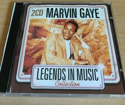 Marvin Gaye - Legends In Music Collection (2CD Live Album) Best/Greatest Hits