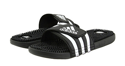 af54fb43527bc New Adidas Women s Adissage Sandals Slides ~ Size Us 11 ~  087609 Black    White
