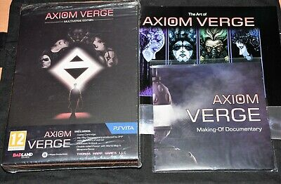 Axiom Verge PSVita Limited Edition NO GAME