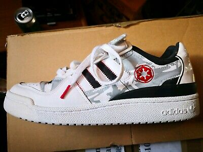 reputable site 34c15 6f4dd Star Wars Adidas Trainers Size 8 AT AT Forum Lo RS Hoth Blizzard Force