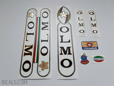 OLMO Sintex Leader black gold decal set sticker complete bicycle FREE SHIPPING