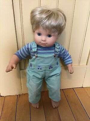 2b678be096da Pleasant Co American Girl Bitty Baby Blonde Toddler BOY Doll Original Outfit