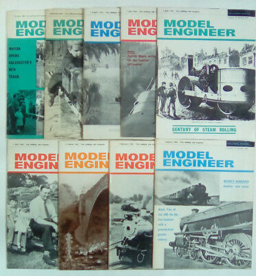 Model Engineer Magazine Volume 131 Numbers 3264 - 3287 January - December 1965