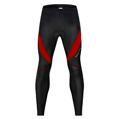 Black Long Cycling Pants Padded Riding Legging Winter Sportswear Women Men