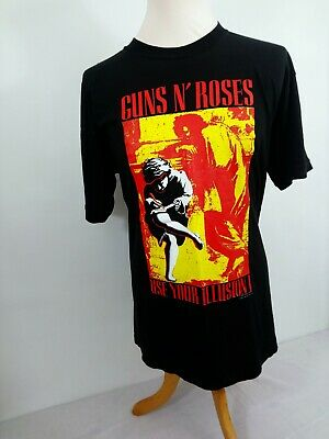 Guns N Roses Use Your Illusion I 'Get In The Ring' Tour 90s Vintage T-Shirt XL