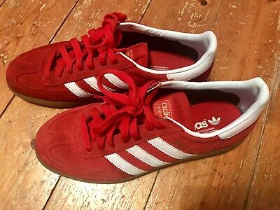 229f1482bb92 ADIDAS SPEZIAL RED suede Trainers size 7 - EUR 14