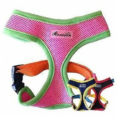 IPUPPYONE HARNESS Dog Puppy Soft Vest MESH-Any Size & Color **AUTHENTIC-COLORS