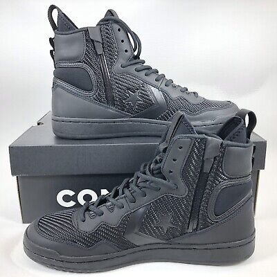 4ded52e2d15e Converse Fastbreak Cascade Leather High-Top Sneakers - Black - 162558C -  Size  9