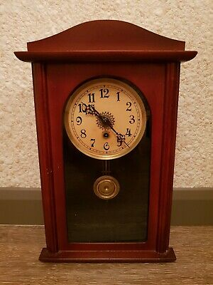 Great looking  Antique Wall  Clock - Working