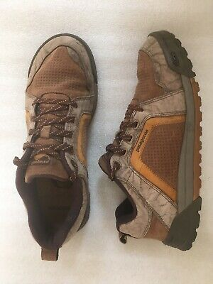 eabdc0d2175 Patagonia Boaris A C Sable Retro Khaki Casual Hiking Shoes vibram Men s  10.5 EUC