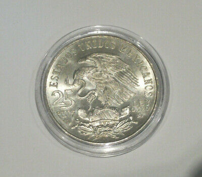 Mexiko Mexico 25 Pesos 1968 Silber Münze Olympia Summer Olympic Games