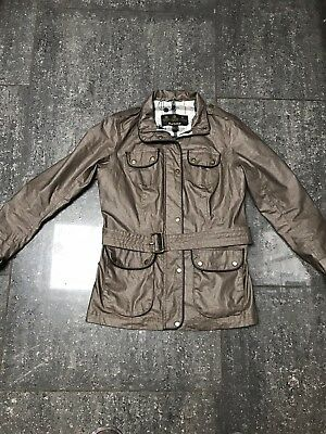 be38a5c2818 BARBOUR JACKET COAT Summer Lutz Stone MCA0349ST51 New Large L Euro ...