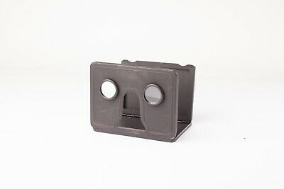 Vintage Tin Plate Stereoscopic Photo Viewer - Works Well, Good Condition.