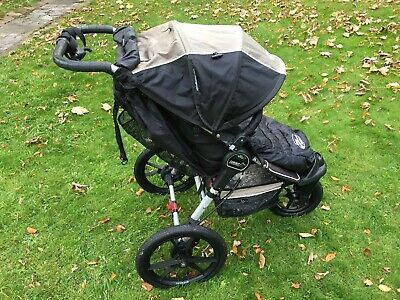 Baby Jogger Summit Xc Single Seat Running Buggy Stroller Black Sand