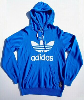 Nwt Adidas Originals Sample Knit Trefoil Sweater Hoody F77317 Mens M Hoodie  Wow 493c0bd2eeb0