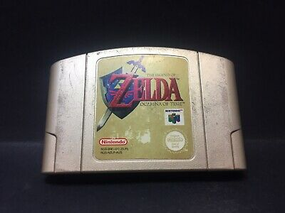 The Legend of Zelda: Ocarina of Time - Nintendo 64 Game - N64 PAL - Cartridge B