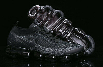 25b1bec161f2 NIKE AIR VaporMax Air Max 2018V Men s Running Trainers Shoes All Black