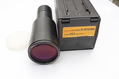 Kodak Retinar 253Mm Lens For Kodak Carousel