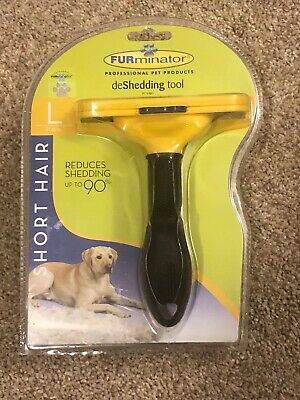 Authentic FURminator Short Hair deShedding tool Large for Dogs 4 Inch