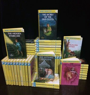 Nancy Drew Book Lot CHOOSE TITLES Flashlight Glossy Vintage Matte FREE SHIP