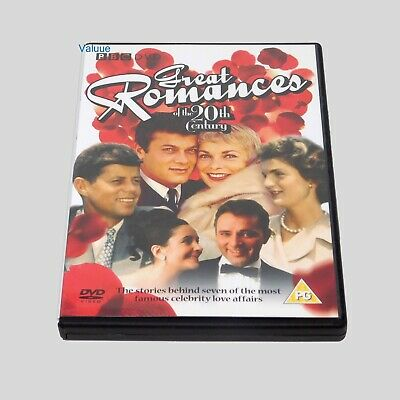 Great Romances of the 20th Century DVD Brand New sealed Free Fast Shipping