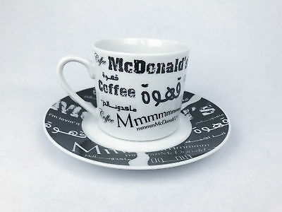 McDonalds Coffee Cup and Saucer