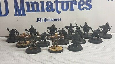 Games Workshop Citadel Lord Of The Rings LOTR Middle Earth Dwarves With Bows x14