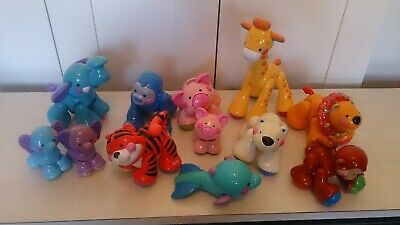 FISHER PRICE AMAZING ANIMALS - ELEPHANT GIRAFFE MONKEY TIGER LION Etc  Bulk Lot