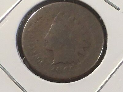 1864 US Indian Head one cent  coin.