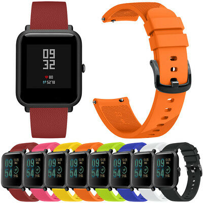 For Huami Amazfit Bip Youth Sport Silicon Band Replacement Strap Wirstband 2018
