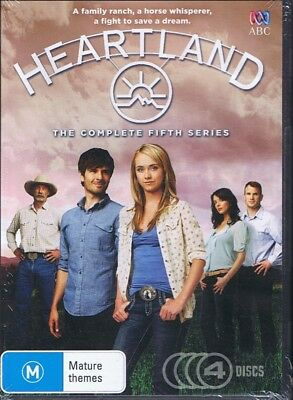 HEARTLAND The Complete 5th Fifth Series/Season 5 (4x DVD) NEW & SEALED Free Post