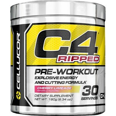 Cellucor C4 Ripped 30Srv Pre Workout  // Thermogenic Fat Burner Gen 4