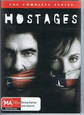 HOSTAGES The Complete Series - Season 1 One (3 x DVD Set) NEW & SEALED Free Post