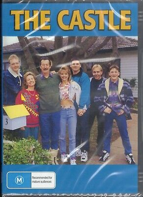 THE CASTLE DVD Starring Michael Caton, Stephen Curry NEW & SEALED Free Post