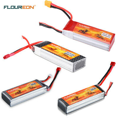 FLOUREON 3S 11.1V RC LiPo Battery Pack for RC Helicopter Airplane Car Truck Boat