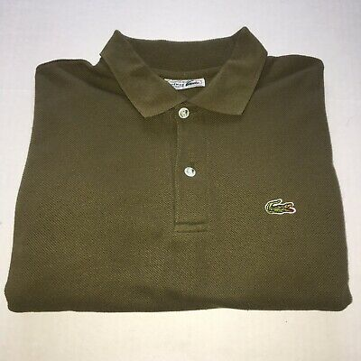 62b6e3caaaed1 CHEMISE LACOSTE Mens Large Polo Shirt Vintage Dark Green GOOD CONDITION  GG