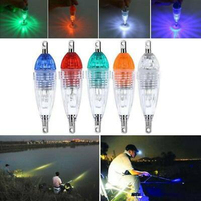 LED Deep Drop Flash Fishing Light Squid Lure Submersible Underwater Tackle Lamp