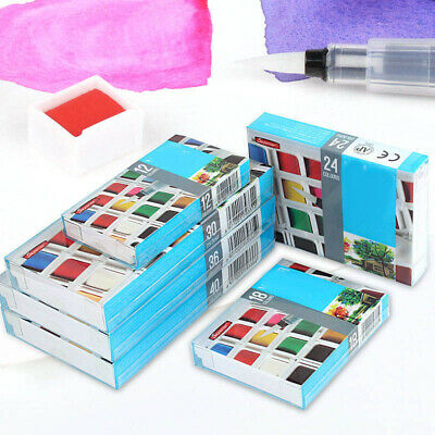 Painting Color Solid Set Watercolor Universal Professional New Newest Latest