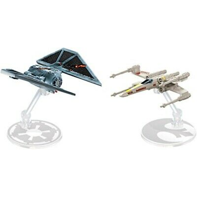 Hot Wheels Star Wars Rogue One Starships The Striker vs. X-Wing Fighter