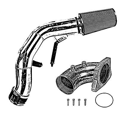 Cold Air Intake Kit Polished For Ford F250 6 0l Powerstroke Diesel