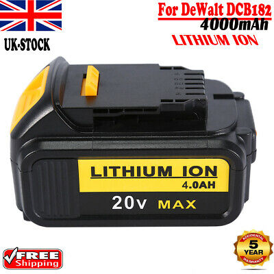 For DEWALT DCB184 18V 4.0Ah XR Li-Ion Battery DCB205 DCD785 DCF885 DCB203 DCB181