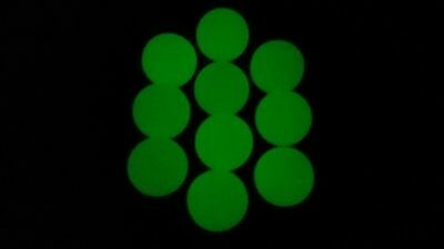 . 68 Cal. Ultra-Violet / Glow in the Dark Hard Rubber Paintball / Target Balls
