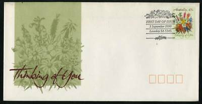 1990 Greetings Stamps 43c Australian Wildflowers FDC SG 1231 D19