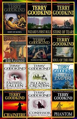 The Sword of Truth AudioBook Series Collection by Terry Goodkind