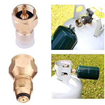 Propane Refill Adapter Gas Cylinder Tank Coupler Heater Adaptor For Cooking BBQ