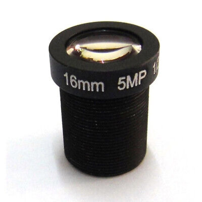 Surveillance Lens For IP CCTV 16mm IR Board M12x0.5 View 50m Security Camera